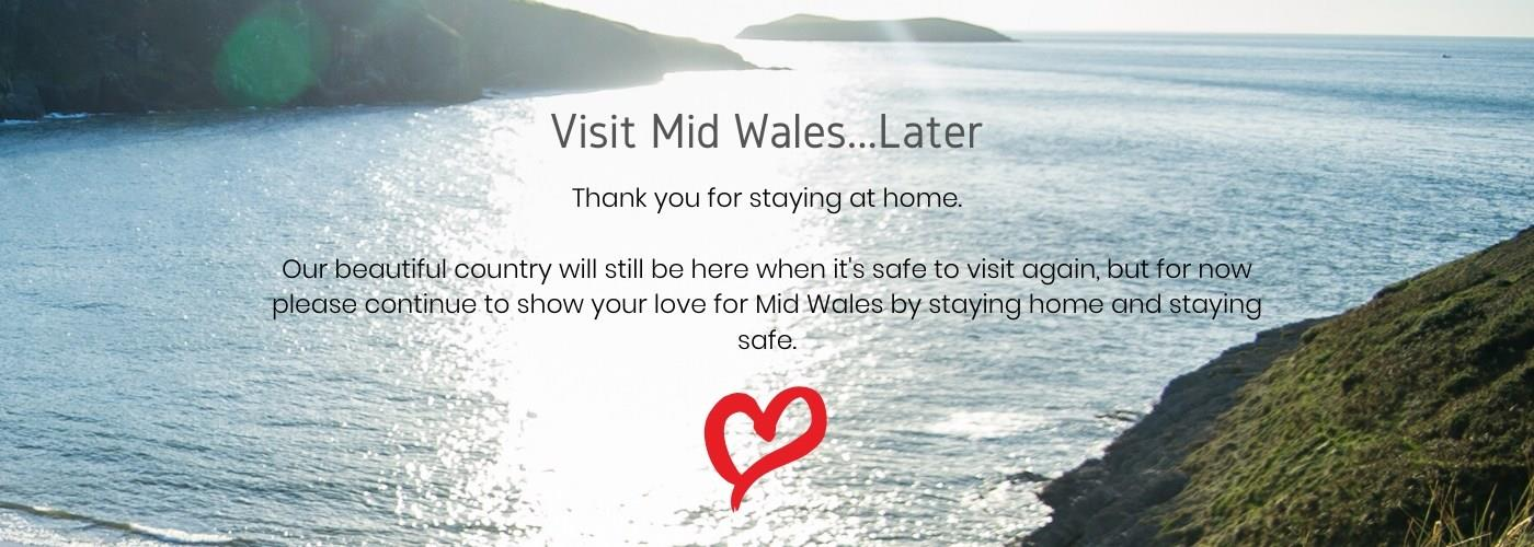 Please, Visit Wales...Later