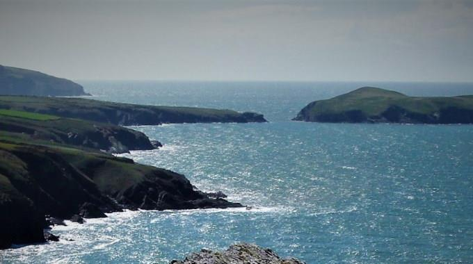 Mid Wales Coast looking south from Mwnt