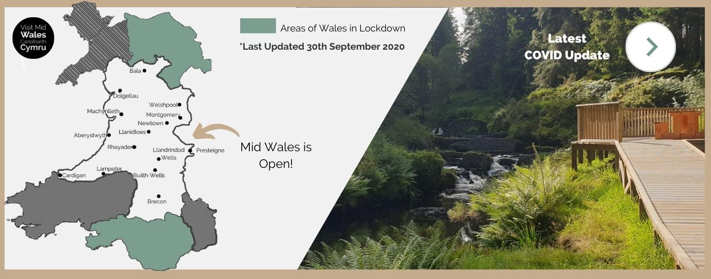 Mid Wales is Open
