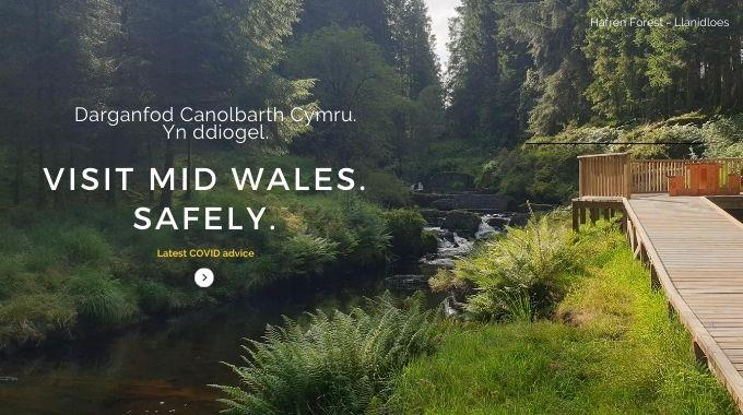 Visit Mid Wales Safely