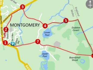 Walking and Cycling near Montgomery