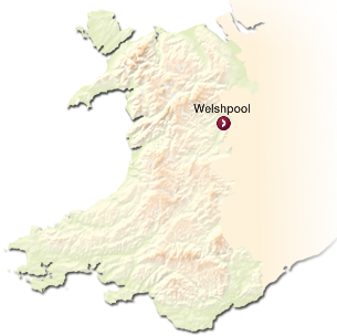 Welshpool Map