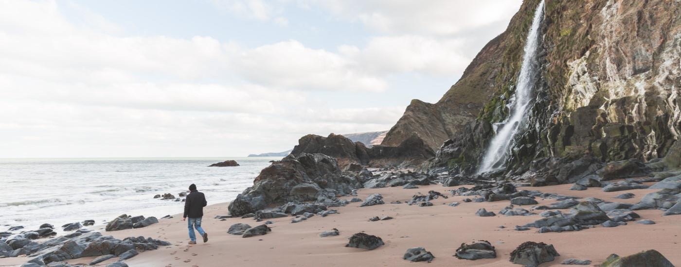 Tresaith Beach / Mid Wales
